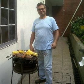 BBQing