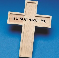 ITS NOT ABOUT ME CROSS